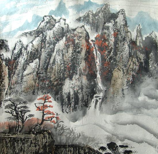方茂鸿国画作品集 - 美讯网 中国书画收藏频道图片