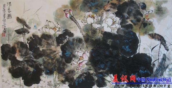 张天武书画艺术欣赏 图片