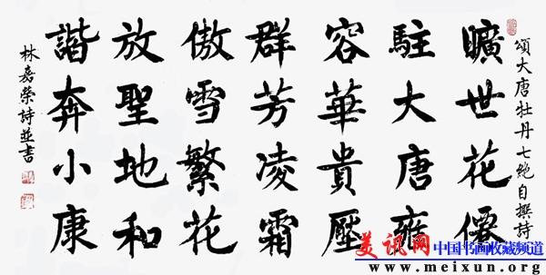林嘉荣书法作品欣赏