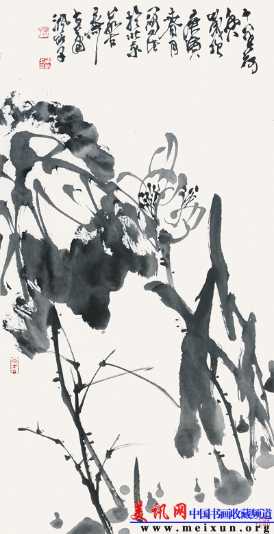 国画水墨竹子作品欣赏
