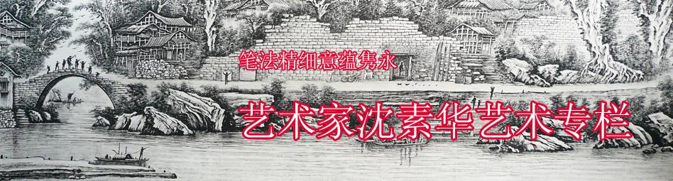 艺术家沈素华艺术专栏