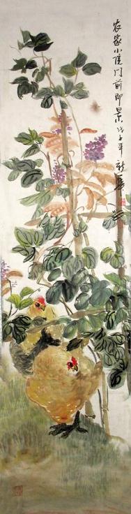 2007年参加了青岛市组织的赴崂山写生研修班活动,国画技能和创作水平