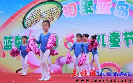 """蓝岛大厦幼儿园举办庆祝""""六一""""儿童节文艺演出"""